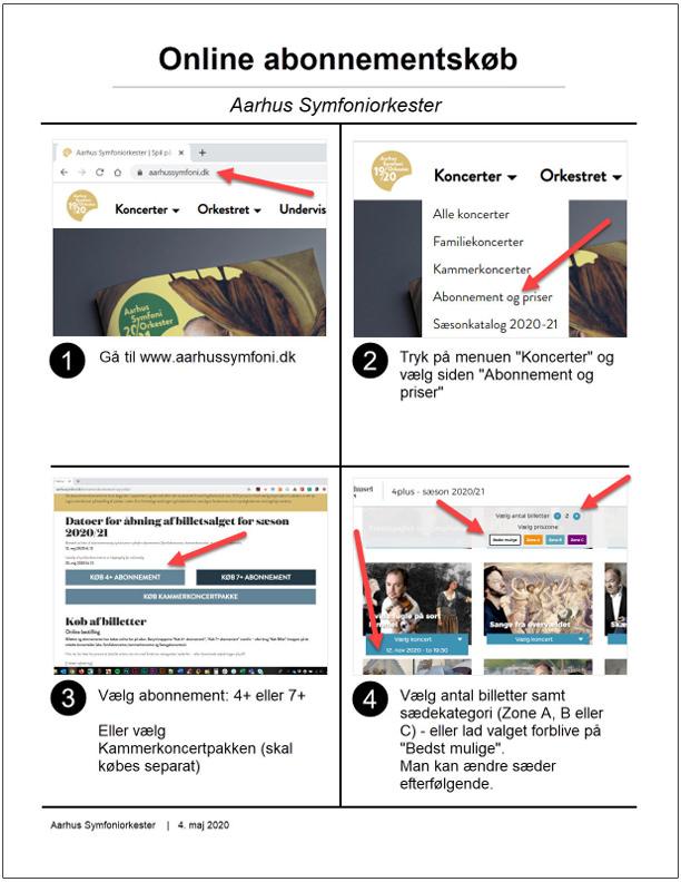 Online abonnementskøb